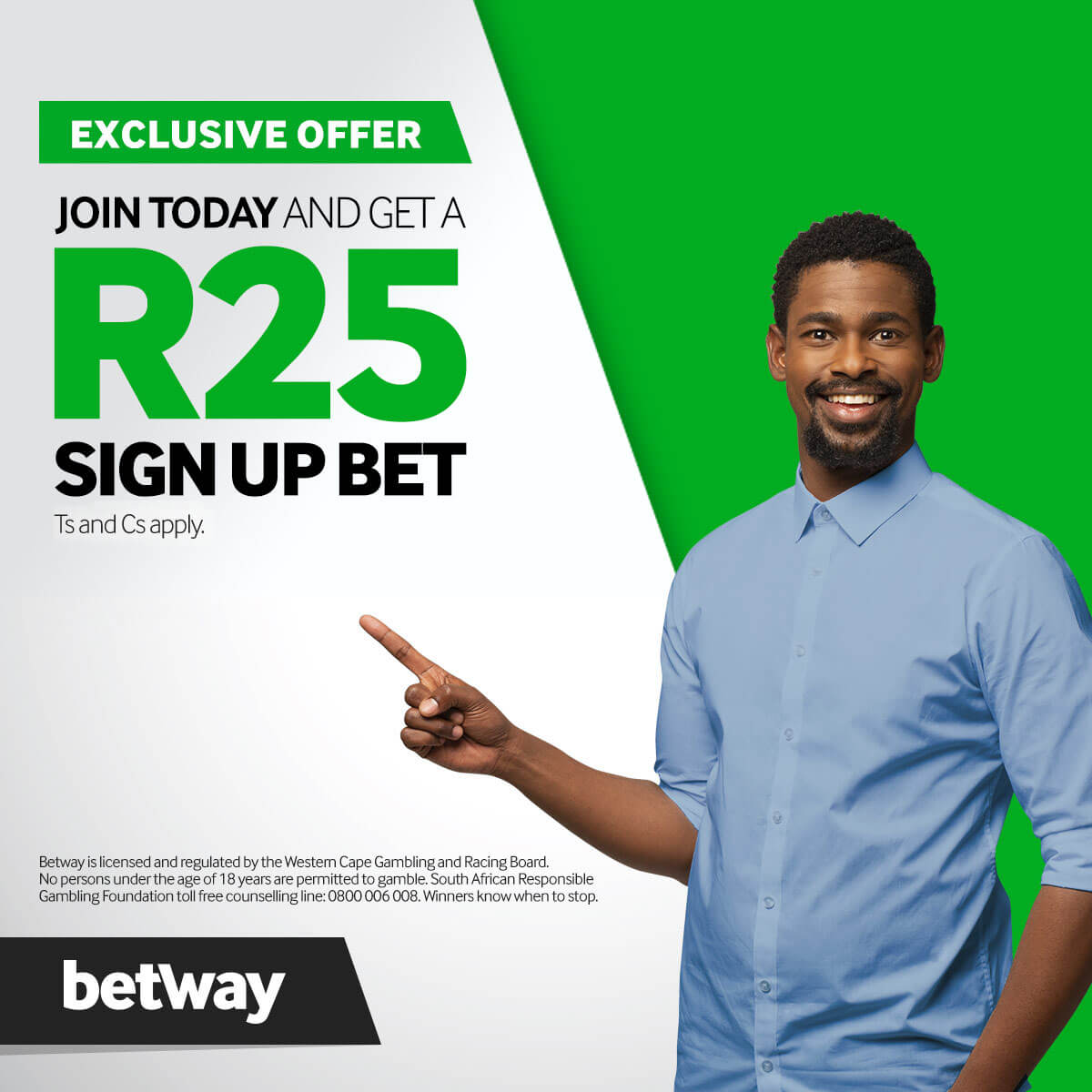 R25 Sign Up Bet